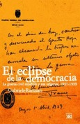 El eclipse de la democracia